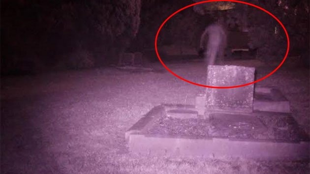 ghostly figure