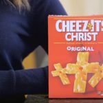 Introducing Cheez-Its Christ, the one true communion snack