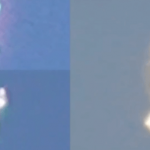 """Video of A """"Humanoid"""" UFO/Alien Flying Above L.A. Goes Viral"""