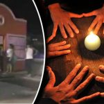 Schoolgirl found wandering streets with Satanic symbols carved into her body