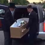 Girl turns up to school prom in a coffin – for amusingly logical reason