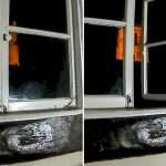 Spooky footage shows bedroom window 'opening on its own' and cottage owner claims it proves home is haunted by ghosts