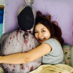 CUDDLE UP WITH A CORPSE PILLOW