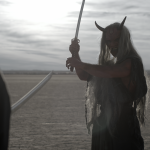 A Samurai faces his demons in short based on classic Japanese mythology